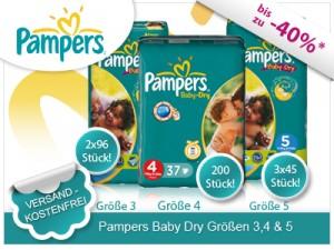 Limango.de Limango Deals Pampers Baby Dry Active Fit ab 2495 EUR 300x225 Limango.de Limango Deals: Pampers Baby Dry & Active Fit  Vorratspack ab 24,95 EUR inkl. Versand